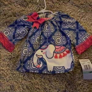 Brand new rare Editions elephant outfit.